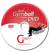 Gymstick Oval Gymball with DVD