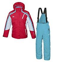Hot Stuff Ski Set Girl Completo sci Bambina, Fery Red/Ski Diver