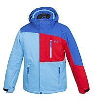 Hot Stuff Stretch Jkt Jr, Blue/Red/Light Blue