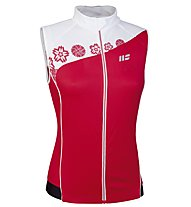 Hot Stuff Ärmelloses Damen-Jersey, Red/White