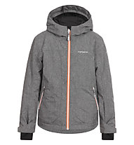 Icepeak Harry JR Kinder-Skijacke, Grey/Orange