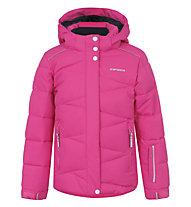 Icepeak Nikki Jr. Kinder-Skijacke für Mädchen, Pink/Light Blue