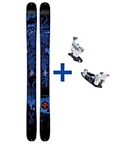 K2 Skis Shreditor 120 The Pettitor Set: Ski+Bindung
