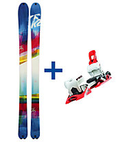 K2 Skis SuperBright 90 FR Set: Ski+Bindung