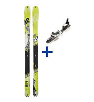 K2 Skis WayBack Telemark Set: Ski+Bindung