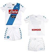 Kappa Kit Replica Kid Napoli completo calcio bambino, White