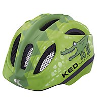 KED Casco bici Meggy Rescue/Reptile, Green Coco