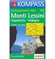 Kompass Karte Nr. 100 1:50.000, 1:50.000