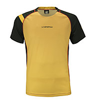 La Sportiva Apex T-Shirt M, Black/Yellow