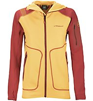 La Sportiva Gamma Hoody Giacca in pile Donna, Yellow