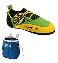 La Sportiva Stickit - scarpetta arrampicata, Lime/Yellow