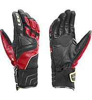 Leki Guanti sci Race Slide S, Black/Red