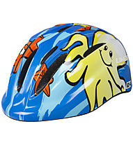 Limar 124 Kids & Youth Superlight Kinder-Fahrradhelm, Wave (Blue)