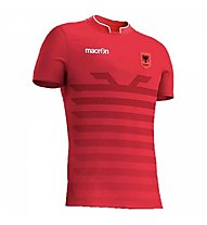 Macron FSHF Home Albanien Shirt, Red