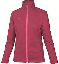 Mammut Argenteraleft Jacket Giacca in pile donna, Red