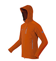 Mammut Ultimate Nordpfeiler Giacca Softshell, Dark Orange