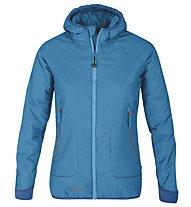 Meru Brampton New giacca con cappuccio donna, Caribbean Sea/Mikonos Blue