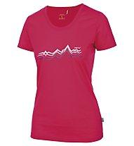 Meru Enköping T-Shirt trekking Donna, Pink