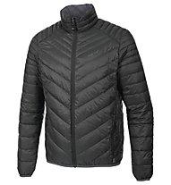 Meru Gander Man Light Down Jacket Giacca in piuma, Black/Dark Grey