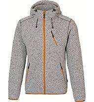 Meru Mallebo giacca con cappuccio, Grey Melange/Buckethorn