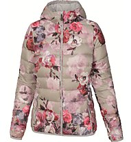 Meru New Vernon Printed Daunenjacke Damen, Rose