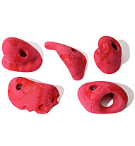 Metolius Klettergriffe Mini Jugs 5 Pack, All-American (Red)