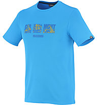 Millet Summit Ts SS T-Shirt trekking, Electric Blue