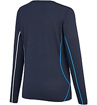 Millet Trilogy Wool Ts Ls Maglia a maniche lunghe alpinismo donna, Blue