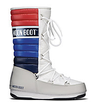 Moon Boot MB WE Quilted, White/Blue/Red