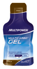 Sport > Fitness > Accessori fitness >  Multipower Multicarbo Energy Gel