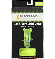 Nathan L.E.D. Cycling Vest, Yellow