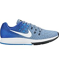 Nike Air Zoom Structure 19 - scarpa running, White/Light Blue