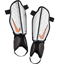 Nike Attack Stadium - Schienbeinschoner Fußball, Silver/Black