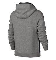 Nike Boys' Nike Sportswear Hoodie felpa bambino, Dark Grey