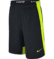 Nike Boys' Nike Dry Training Short - kurze Jungenhose, Black/Volt