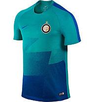 Nike Inter Mailand Pre-Match 2015/16 - Fußballtrikot, Blue/Turquoise