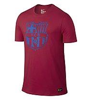 Nike FC Barcelona Crest - maglia calcio FCB, Red