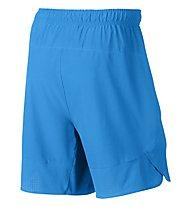"""Nike Flex 8"""" Short - pantaloni corti fitness, Blue"""