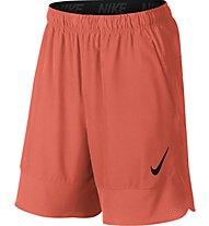 """Nike Flex 8"""" Short - pantaloni corti fitness, Orange"""