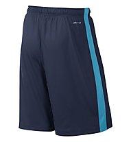 Nike Fly 2.0 Trainingshorts pantaloni corti, Midnight Navy/Blue Lagoon