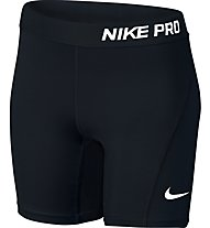 Nike Girls' Pro Cool Training Fitness Short Mädchen, Black