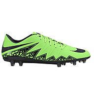 Nike Hypervenom Phatal II FG scarpa da calcio, Green Strike/Black