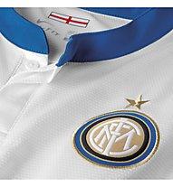 Nike Inter SS Away Replica Jersey, White/Blue/Black