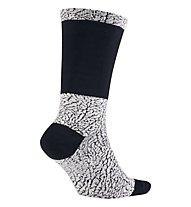 Nike Jordan Ele Print Crew - Basketball Socken, White/Black