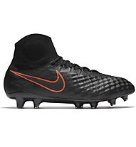 Nike Magista Obra II FG Fußballschuh fester Boden, Black