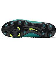 Nike Magista Obra II FG Jr Kinder-Fußballschuh fester Boden, Rio Teal