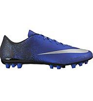 Nike Mercurial Veloce II CR AG-R Scarpe da calcio, Royal Blue/Silver