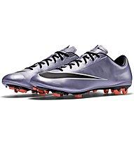 Nike Mercurial Veloce II FG - scarpe da calcio, Silver