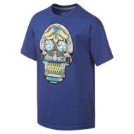 Sportarten > Fitness > Fitness Bekleidung >  Nike YA Graphic Boot Skull Shirt Kinder