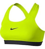 Nike Pro Classic Bra - reggiseno sportivo, Volt/Black